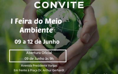 1ª Feira do Meio Ambiente de Domingos Martins – 09 a 12/Junho