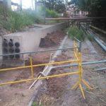 Envelope de cabos subterrâneo