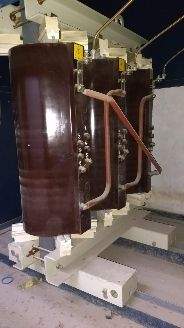 Manutenção elétrica em subestação 112,5kVA