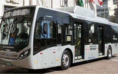 Primeiro ônibus elétrico produzido no Brasil circulará em São Paulo