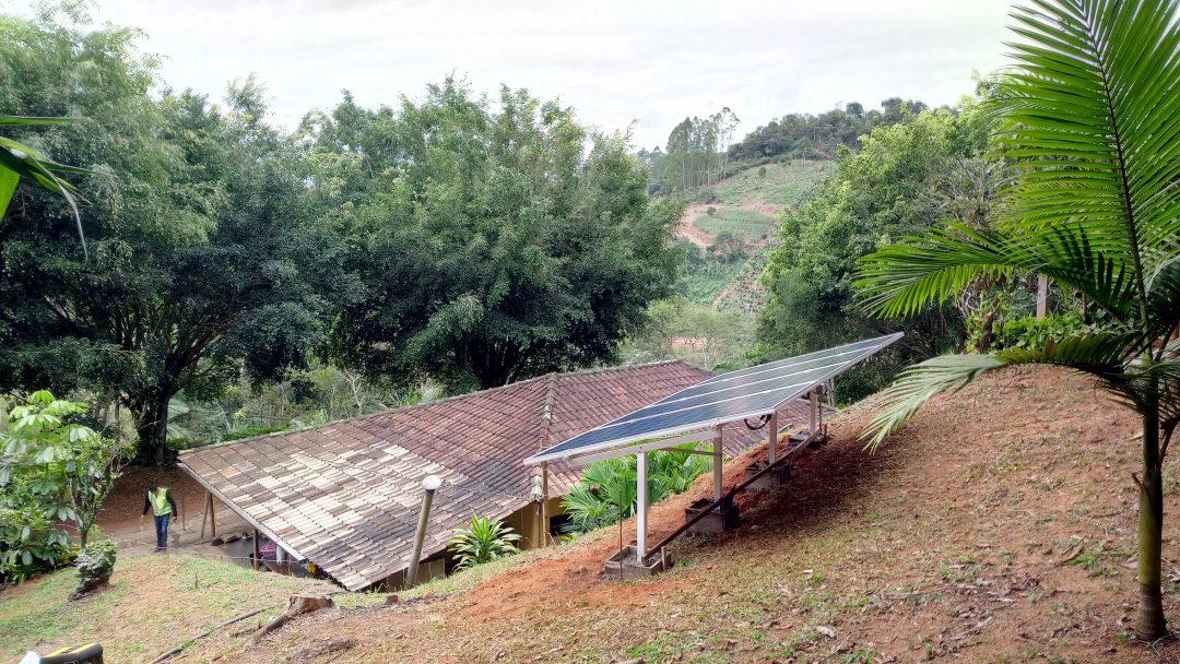 Gerador de Energia Solar Fotovoltaico 1,30kW